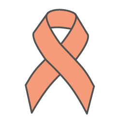 Cancer icon (pink ribbon)