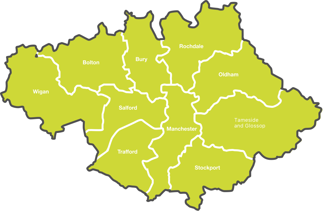 Greater Manchester Boroughs