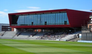 The Point at Emirates Old Trafford cricket ground
